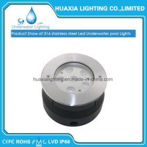 Indicatore luminoso subacqueo del raggruppamento messo LED per la lampada sotterranea impermeabile