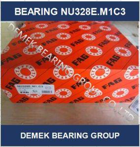Rolamento de roletes cilíndricos Nu328 E. M1C3 Com compartimento de Latão