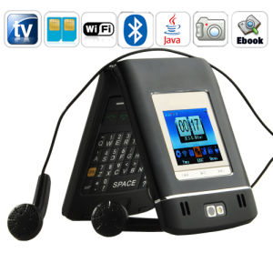 B6000 si raddoppiano telefono delle cellule di fascia del quadrato di SIM