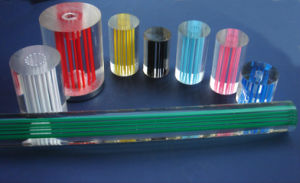 Transparent en acrylique moulé ou extrudé tube/Tube PC