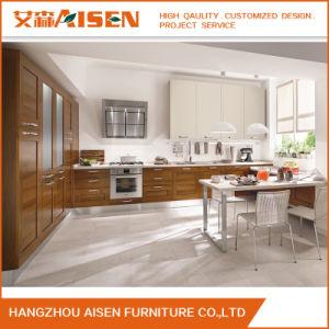Armarios personalizados de madera maciza Modular kitchen cabinet