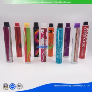 Crema de Color de cabello tintes capilares envases cosméticos vacía el tubo de aluminio flexible