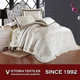 ドーナの羽毛布団のキルトカバーSize Bed一定の二重女王王