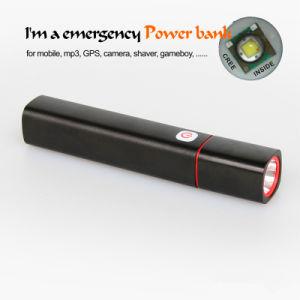 CREE XPE-R3 Mini Portable LED Flashlight con Multifunction Charger
