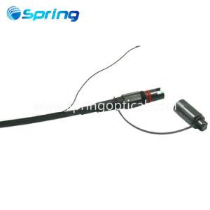 FTTH Council Optitap Fibra Óptica SC/APC os patch cables 4.5*9,8mm de Cabo com um fio de cobre