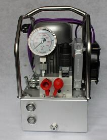전기 펌프 또는 유압 펌프 또는 토크 렌치 펌프