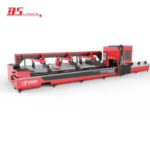 Smart laser à fibre Automatique Machine de découpe CNC pour tube métallique rond Carré Rectangle