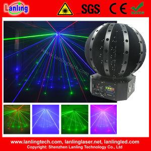 Disco шарик стадии лазерный луч лазера