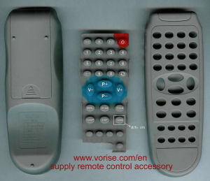 Tastiera conduttiva della gomma di silicone di telecomando