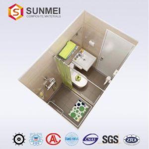 Prefabricados, cuarto de baño en forma de panal de aluminio con ...