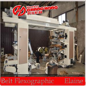 Máquina de impressão Flexographic da etiqueta da máquina/laminador de impressão da máquina de impressão do papel de etiqueta/película da etiqueta