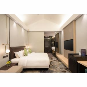 Conjunto completo moderna hospitalidade chique Hotel Apartment Bed Mobiliário de quarto