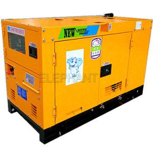 12kw 3phase Geluiddichte Dieselmotor