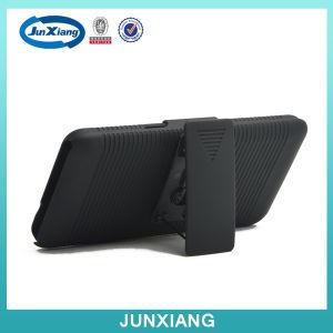 Samsung Prime/G 530のための180度の旋回装置の裏表紙の装甲箱が付いている立場のホルスターのコンボの箱