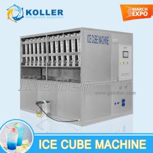 CE approuvé de 3 tonnes cube de glace de la machine avec système d'emballage semi-automatique (CV3000)