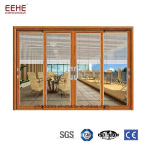 Portelli rivestiti con l'otturatore, portelli di vetro di alluminio della polvere di alluminio dell'isolamento acustico