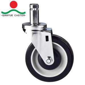 PU / PVC rigide et de roulettes pour charges moyennes