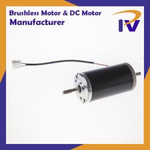 Cepillo de imán permanente motor DC de conducción para la industria