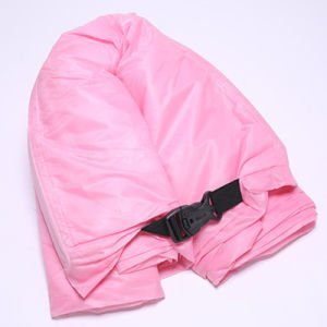Tumbona sofá, sillón hinchable rápido Camping Saco de dormir, perezoso, Hangout Cama de nylon