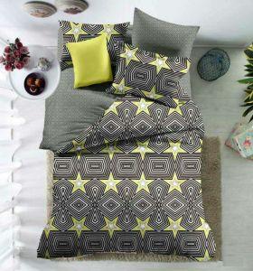 100%年のポリエステル贅沢な印刷された寝具の慰める人セット