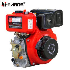 178f Prijs van de Dieselmotor van het Begin van de Schacht van de spiebaan de Hand (HR178F)