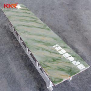 Оформление материалов полупрозрачные твердой поверхности за стойкой регистрации