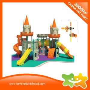 Giocattoli esterni del campo da giuoco di plastica popolare del parco di divertimenti