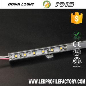 Debajo de armarios, estanterías de la luz de lámpara, LED barra rígida de luz lineal