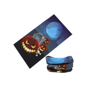 목 온열 장치 (YH-HS425)가 Halloween 디자인 아이들의 Headscarf에 의하여 농담을 한다