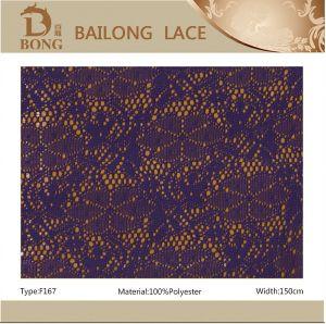 Abend Dress Fabric Lace für Girls (F167)