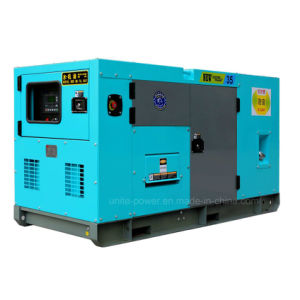 100kVA Soundproof Cummins Diesel Generator Set