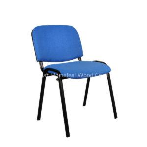 Tejido simple visitante estudiante silla silla Silla de oficina sin ...