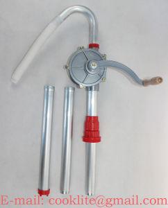 Alu Rotativo Manuelle Pompe Pour Fluides Corrosifs não