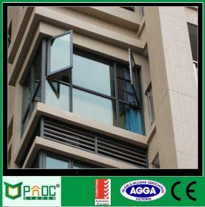 La moda francesa de aluminio doble Casement ventana con el estándar europeo