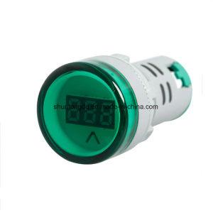 22 mmデジタル表示装置の電圧計はコンボAC 60V-450V表示器をつける