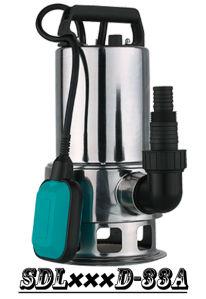 (SDL400D-33A)浮遊物スイッチが付いている最もよい品質のステンレス鋼シャフト汚れた水庭の浸水許容ポンプ