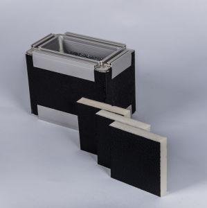 Conduit d'air en mousse PU Untduct avec panneau en aluminium noir