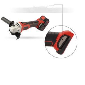 Smerigliatrice di angolo senza cordone elettrica di carico della batteria di litio mini 20V