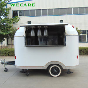 고품질 음식 트럭 Churros 트레일러 아이스크림 트레일러