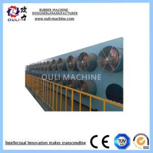 Автоматическое выключение пакетной обработки резины для линии охладителя давление в шинах резиновые ленты транспортера