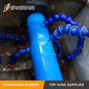Mangueira Layflat de plástico de PVC flexível do tubo de borracha de água para o jardim