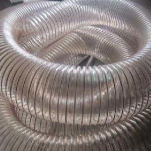 Кондиционер воздуха системы отопления вентиляции ПВХ спирали Гибкий воздуховод воздушного шланга трубопровода