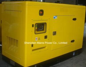30kVA de 24kw Yuchai silencioso Generador Diesel tipo espera 33kVA.