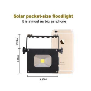 キャンプする太陽電球の常夜燈屋外のハングの軽いランプをハイキングする