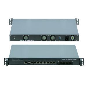 1u 랙마운트 H87 8 근거리 통신망 및 4 광섬유 방화벽 기구
