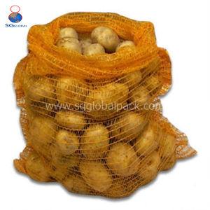 Nach Maß PET Raschel Beutel für Verpackungs-Obst und Gemüse