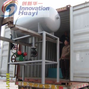 Separatore di flottazione dell'aria nel progetto di trattamento di acqua di scarico dell'olio