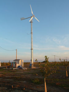 Anhua 10kw Pitch Controlled Small Windmill für weg von Grid Use
