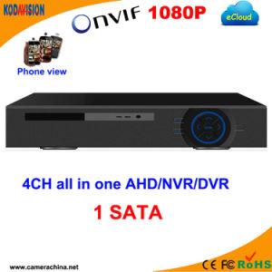 4 canali Standalone Ahd H 264 CCTV Software DVR