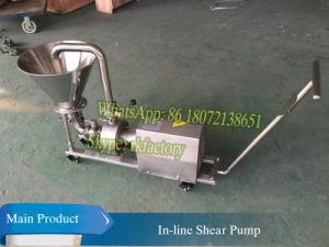 5T/H émulsifiant émulsifiant de cisaillement de la pompe haute de la pompe